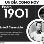 30 de Enero: Nació Rudolf Caracciola
