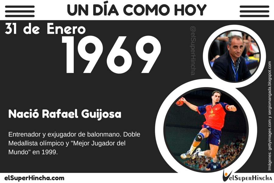 Rafael Guijosa nació el 31 de Enero de 1969