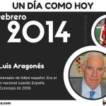 1 de Febrero: Murió Luis Aragonés