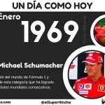 Michael Schumacher nació un 3 de enero