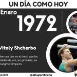 Vitaly Shcherbo nació el 13 de enero de 1972