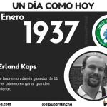 Nació Erland Kops
