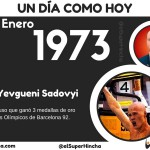 Yevgueni Sadovyi nació un 19 de enero