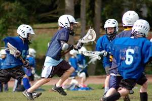 Lacrosse es un deporte colectivo