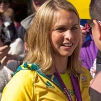 Libby Trickett o Libby Lenton, exnadador australiana