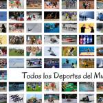 Todos los deportes del mundo y su clasificación