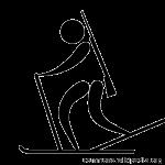 Pictograma del Biathlon