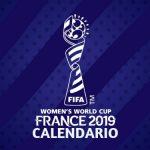 Calendario Mundial Femenino de Fútbol Francia 2019