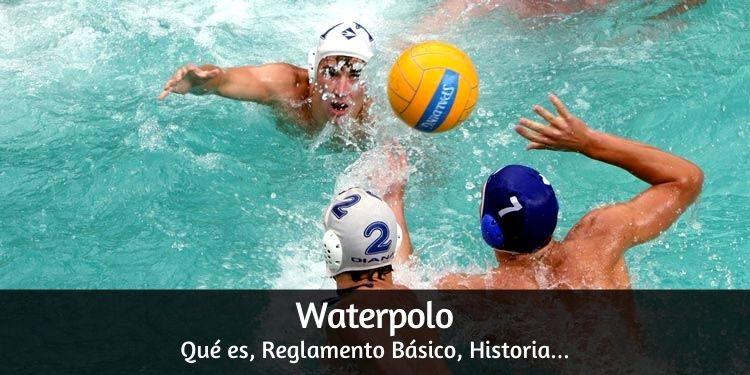 ¿Qué es waterpolo?