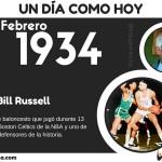 12 de Febrero: Nació Bill Russell