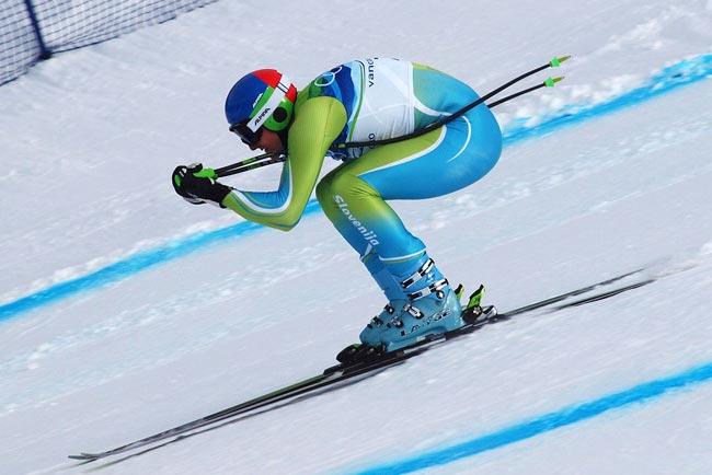 Downhill o Descenso, una de las disciplinas del esqui alpino