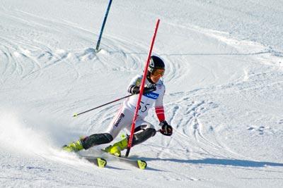 El Eslalon es una disciplina del Esquí Alpino