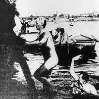 Frederick Lane fue el primer nadador australiano que fue a unos Juegos Olímpicos