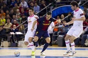 El futsal se basa en el fútbol, baloncesto, balonmano y waterpolo