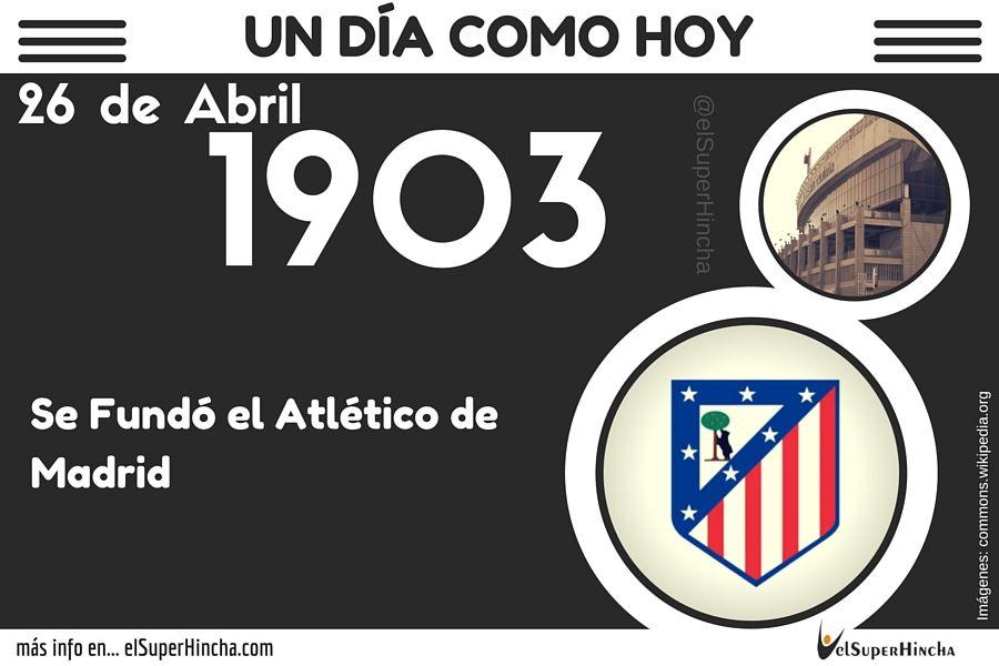 El Atlético de Madrid surgió como una sucursal del Athletic de Bilbao