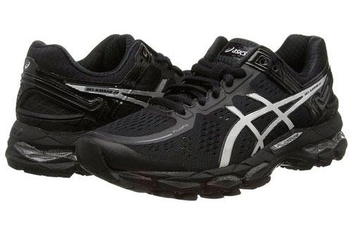 Zapatillas Asics Gel-Kayano 22 Mujer. Zapatillas Running Pronadoras. Color Negro