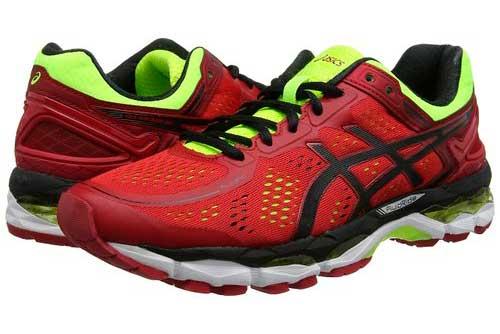 Zapatillas Pronador Hombre. Zapatillas Asics Gel-Kayano 22. Color Rojo