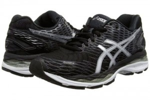 Zapatillas Running Larga Distancia Asics Gel-Nimbus 18 Color Negro