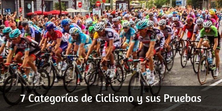 Categorías de Ciclismo