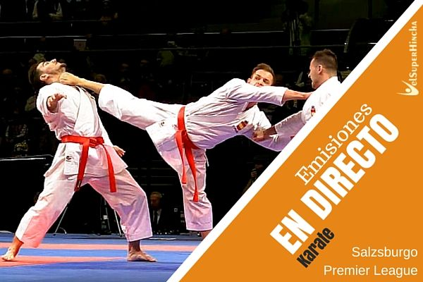 Karate En Vivo. Finales de Premier League Salzsburgo