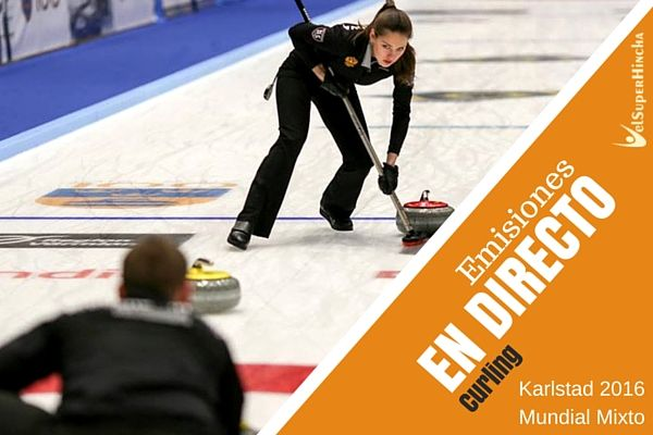 Final del Mundial de Curling de Parejas Mixtas Karlstad 2016