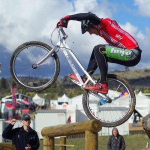 La modalidad de ciclismo trial, está basada en la categoría de motos con el mismo nombre