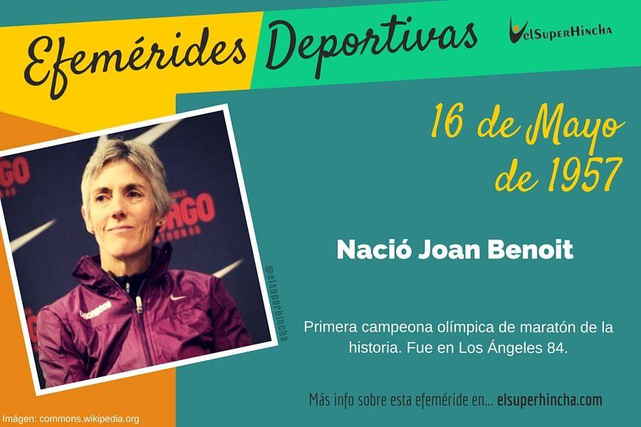 Joan Benoit fue la primera mujer que ganó una maratón en unos Juegos Olímpicos