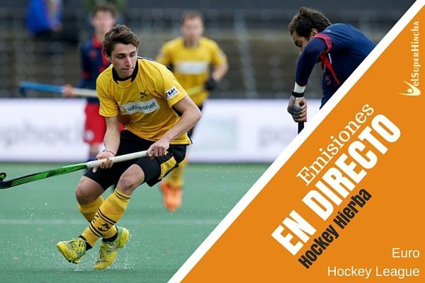 Atletic Terrassa juega la Final Four Euro Hockey League. En Directo