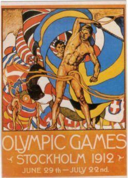 El pentatlón moderno apareció por primera vez en los Juegos Olímpicos Estocolmo 1912