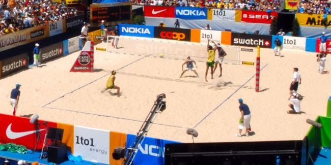 medidas reglamentarias del terreno de juego del voleibol
