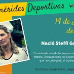 14 de junio: Nació Steffi Graf