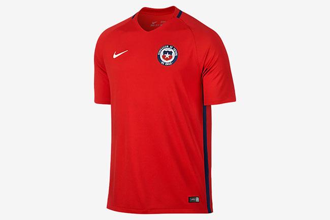 Camiseta Chile. Copa América 2016