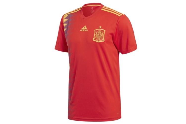 d795b303 Camiseta Selección Española 2018/19 Adidas – Mundial Francia 2019 y Rusia  2018