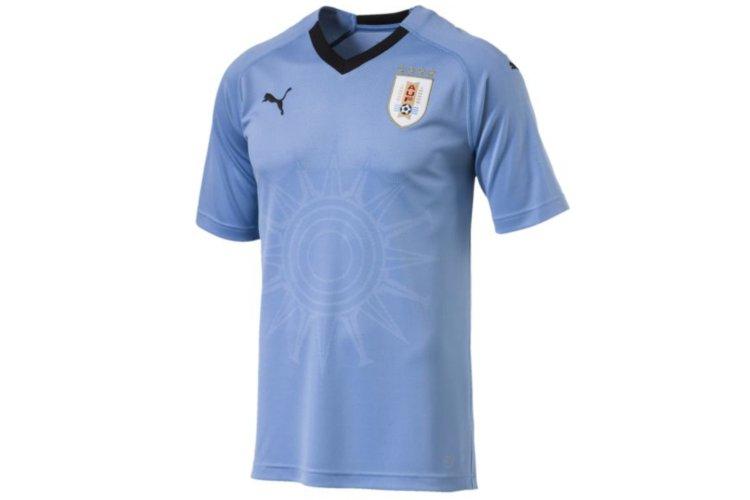 camiseta dela seleccion de uruguay