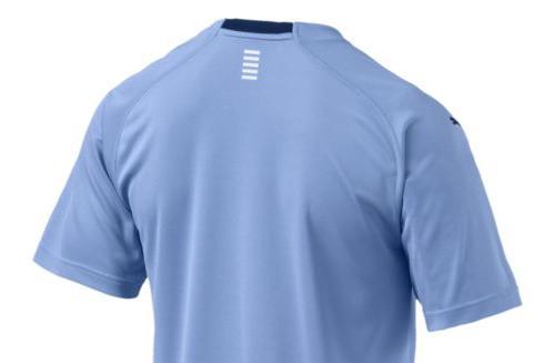 Trasera de la camiseta de la Selección Uruguaya