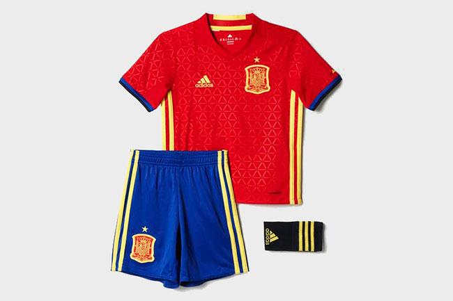equipaciones de futbol seleccion española