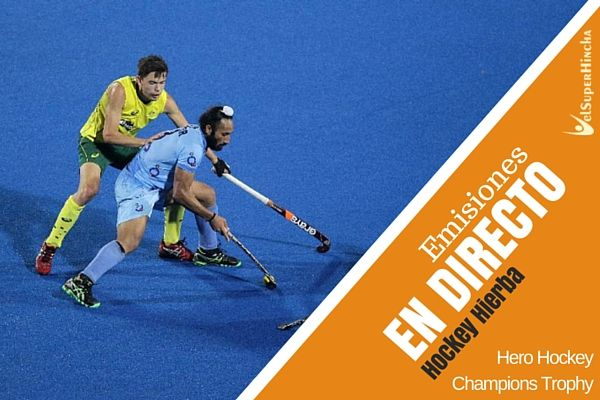 Hockey Hierba En Directo. Hero Hockey Champions Trophy 2016