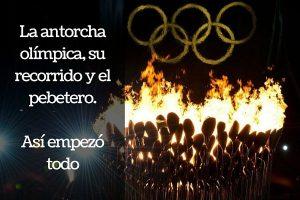 Cómo nacieron la Antorcha Olímpica, su recorrido desde Grecia y el pebetero en el Estadio Olímpico
