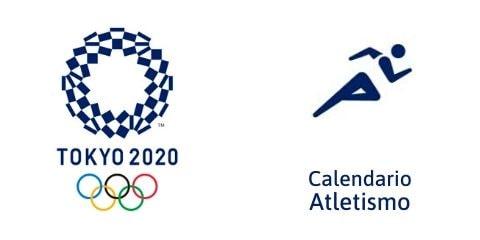 Calendario Atletismo Tokio 2020