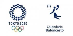 Calendario Baloncesto Tokio 2020