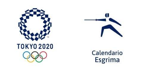 Calendario Esgrima Tokio 2020