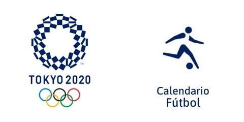Calendario Fútbol Tokio 2020