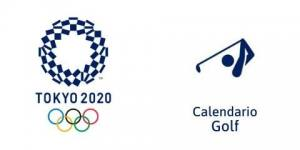 Calendario Golf Tokio 2020