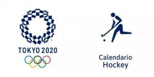 Calendario Hockey Hierba Tokio 2020