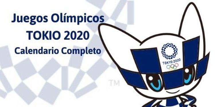 Calendario Completo Juegos Olímpicos Tokio 2020