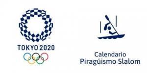 Calendario Piragüismo Slalom Tokio 2020
