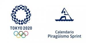 Calendario Piragüismo Sprint Tokio 2020