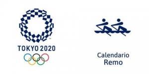 Calendario Remo Tokio 2020