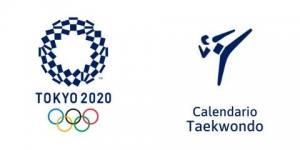 Calendario Taekwondo Tokio 2020