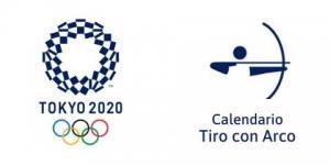 Calendario Tiro con Arco Tokio 2020
